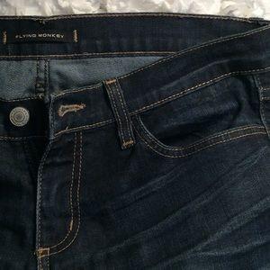 Dark Wash Denim FLYING MONKEY Skinny Jean